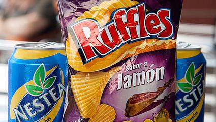 Ham Potato Chips