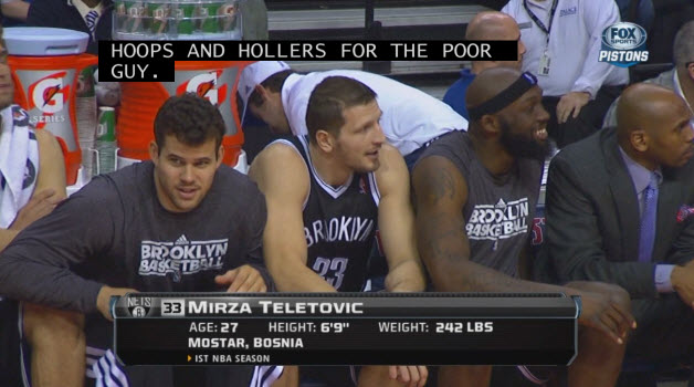 Mirza Teletovic sucks 3
