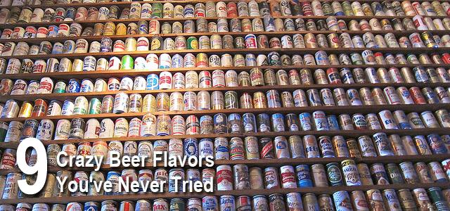 crazy beer flavors