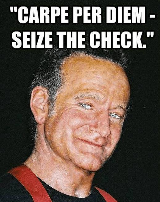 """Carpe per diem - seize the check."""