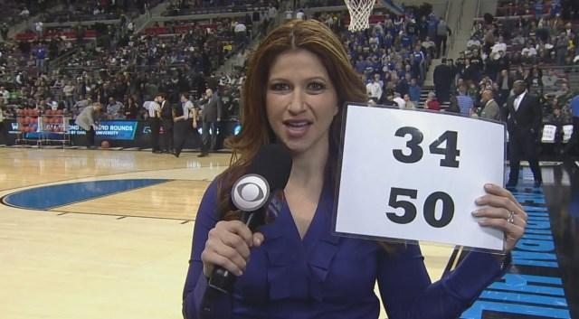 Rachel Nichols predicting score