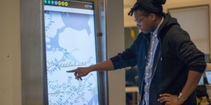 NYC to replace subway maps with giant iPads