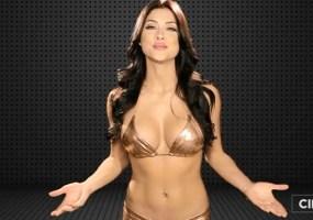 Arianny Celeste bikini top