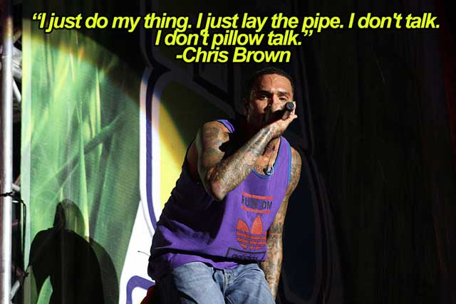 chris brown pipe