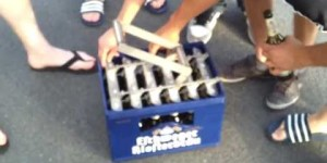 How to open a case of beer like a boss*