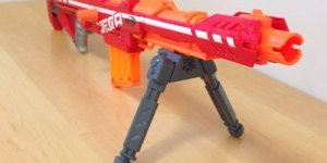 Nerf's new gun can blast you from 100 feet away