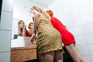 peeping women restroom