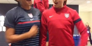 The Alex Morgan-Sydney Leroux 'Prancercise' video lacks camel toe