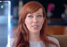 Alie Ward Cox commercial