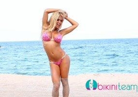 Chelsey Novak bikini team