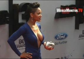 Meagan Good dress BET awards