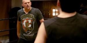 Chuck 'Little-Dick' Liddell in 'Kick-Ass 2′ clip