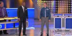White guy breakdancing on 'Family Feud'