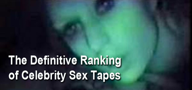 Celebrity Sex Tapes List Rankings