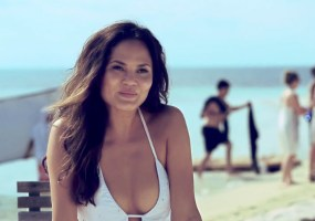 Chrissy Teigen beach bunny hot