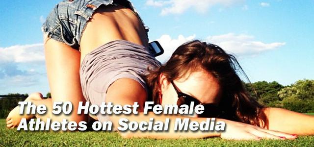 Sexiest Athletes on Social Media list