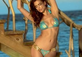Irina Shayk beach bunny bikini pics