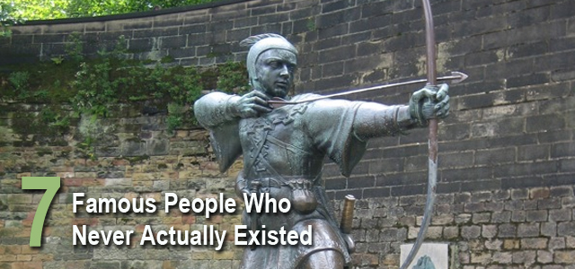 famous people who never existed