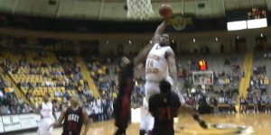 Michael Craig of Southern Miss threw down a dunk facial for the ages