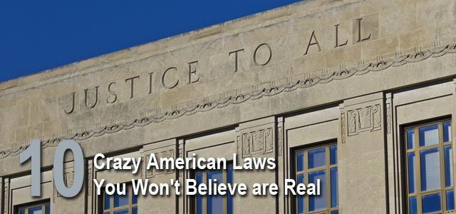 craziest american laws