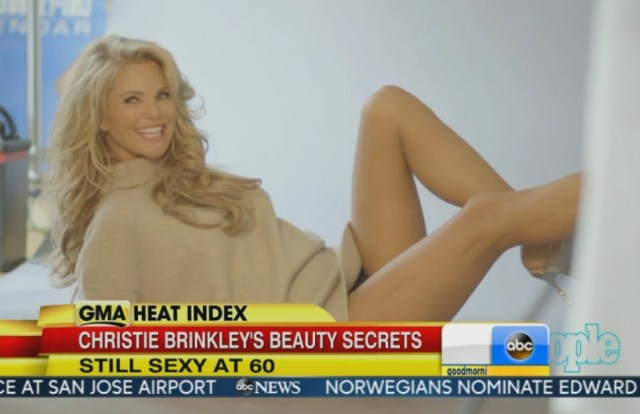 Christie Brinkley legs