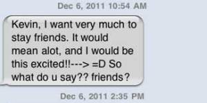 This barrage of texts from the clingiest girl ever may make you never date again