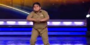 This chubby Indian kid crushed his dance performance on 'India's Got Talent'