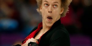 Figure skaters give us their best O-Face