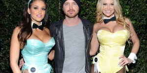 Ashley Sky, Jaclyn Swedberg, Aaron Paul and more rocked the Playboy Super Bowl party