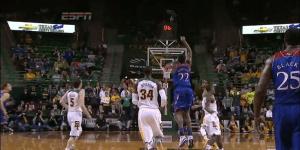 Super Freshman Andrew Wiggins Hit a Half-Court First-Half Buzzer Beater Against Baylor