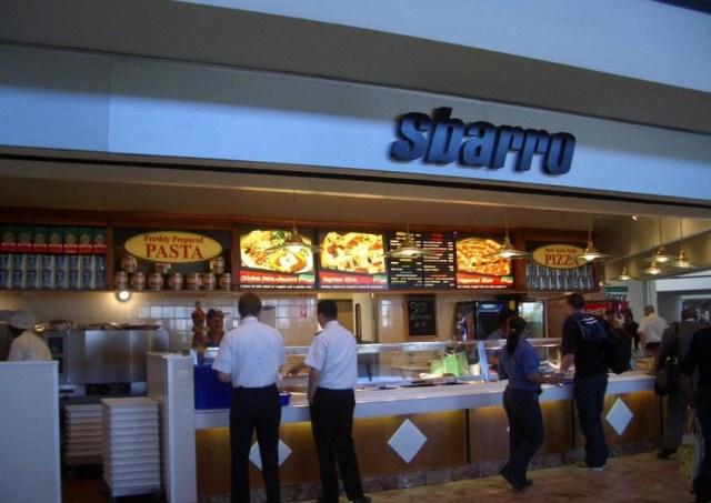 Sbarro airport