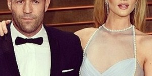 Jason Statham looked so pissed to be at an Oscars party with his supermodel girlfriend