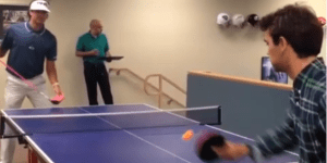 Here's Bubba Watson Playing Ping Pong With His Driver