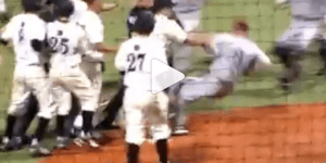 Central Arkansas and Arkansas-Little Rock Had a Wild Baseball Brawl