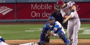 One handy GIF shows why catchers wear cups