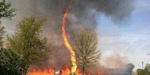 The Firenado is Real and Terrifying