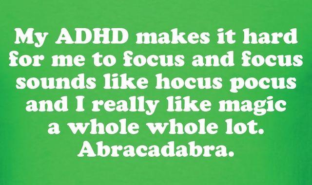 ADHD Hocus Pocus
