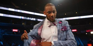 Adreian Payne's draft suit was a touching tribute to his friend, Lacey Holsworth