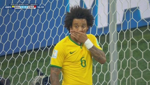 Brazil own goal