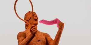 Nike Made a Statue of Rafael Nadal Out of Red Clay, Presumably So the Internet Could Photoshop Dicks Into His Mouth