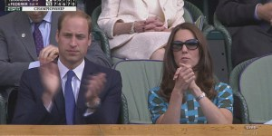 I can't stop watching Kate Middleton clapping like a seal
