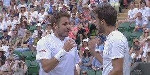 Stan Wawrinka and Feliciano Lopez almost threw down at Wimbledon