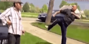 Check out this drunken brawl turned into 'Street Fighter' game