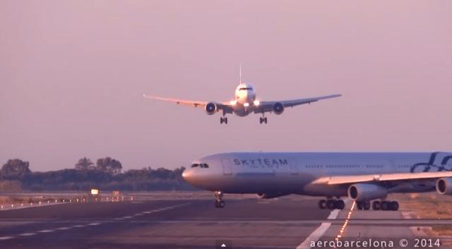 near-miss-plane-barcelona