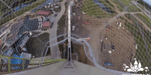 This is what it looks like to ride down the world's tallest waterslide, the Verruckt