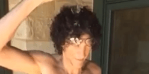Howard Stern takes the Ice Bucket Challenge — challenges Barbara Walters and a dead guy
