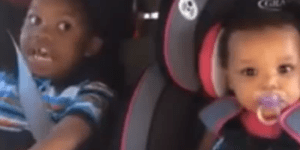 Little kid goes OFF on his mom for getting pregnant again
