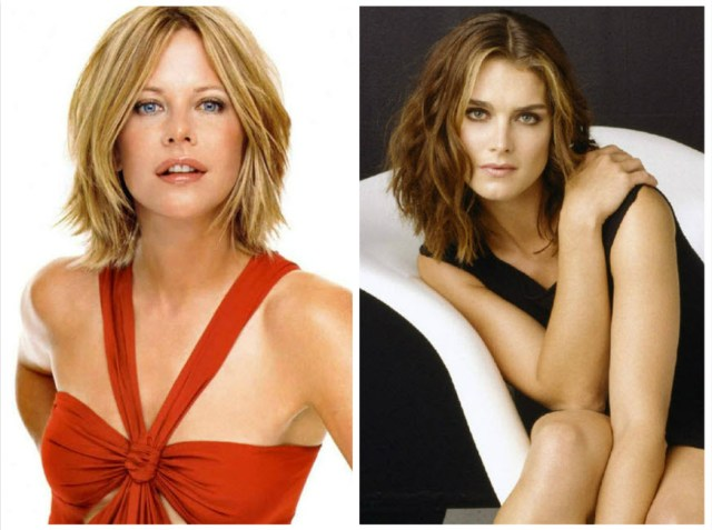 Meg Ryan and Brooke Shields