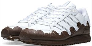 These 'Muddy' Adidas Running Shoes are Dumb