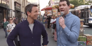 The Emmys Edition of 'Billy on the Street' With Seth Meyers Was Delightful